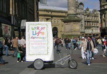 AdTrike in Newcastle, UK