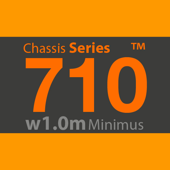 710 chassis badge